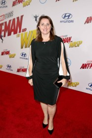 """HOLLYWOOD, CA - JUNE 25: Executive Producer Victoria Alonso attends the Los Angeles Global Premiere for Marvel Studios' """"Ant-Man And The Wasp"""" at the El Capitan Theatre on June 25, 2018 in Hollywood, California. (Photo by Jesse Grant/Getty Images for Disney) *** Local Caption *** Victoria Alonso"""