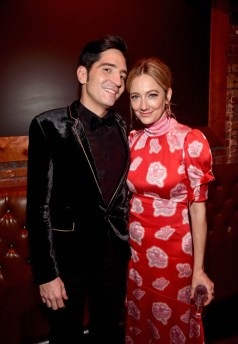 """HOLLYWOOD, CA - JUNE 25: Actors David Dastmalchian (L) and Judy Greer attend the Los Angeles Global Premiere for Marvel Studios' """"Ant-Man And The Wasp"""" at the El Capitan Theatre on June 25, 2018 in Hollywood, California. (Photo by Alberto E. Rodriguez/Getty Images for Disney) *** Local Caption *** David Dastmalchian; Judy Greer"""