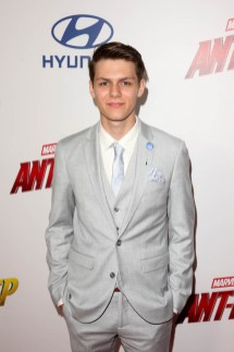 "HOLLYWOOD, CA - JUNE 25: Ty Simpkins attends the Los Angeles Global Premiere for Marvel Studios' ""Ant-Man And The Wasp"" at the El Capitan Theatre on June 25, 2018 in Hollywood, California. (Photo by Jesse Grant/Getty Images for Disney) *** Local Caption *** Ty Simpkins"