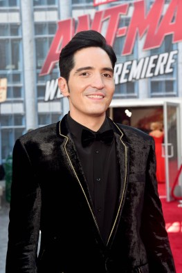 """HOLLYWOOD, CA - JUNE 25: Actor David Dastmalchian attends the Los Angeles Global Premiere for Marvel Studios' """"Ant-Man And The Wasp"""" at the El Capitan Theatre on June 25, 2018 in Hollywood, California. (Photo by Alberto E. Rodriguez/Getty Images for Disney) *** Local Caption *** David Dastmalchian"""