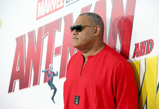 """HOLLYWOOD, CA - JUNE 25: Actor Laurence Fishburne attends the Los Angeles Global Premiere for Marvel Studios' """"Ant-Man And The Wasp"""" at the El Capitan Theatre on June 25, 2018 in Hollywood, California. (Photo by Jesse Grant/Getty Images for Disney) *** Local Caption *** Laurence Fishburne"""