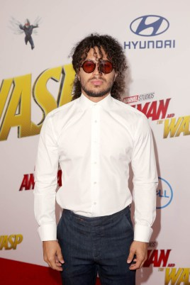 "HOLLYWOOD, CA - JUNE 25: Ramses Jimenez attends the Los Angeles Global Premiere for Marvel Studios' ""Ant-Man And The Wasp"" at the El Capitan Theatre on June 25, 2018 in Hollywood, California. (Photo by Jesse Grant/Getty Images for Disney) *** Local Caption *** Ramses Jimenez"