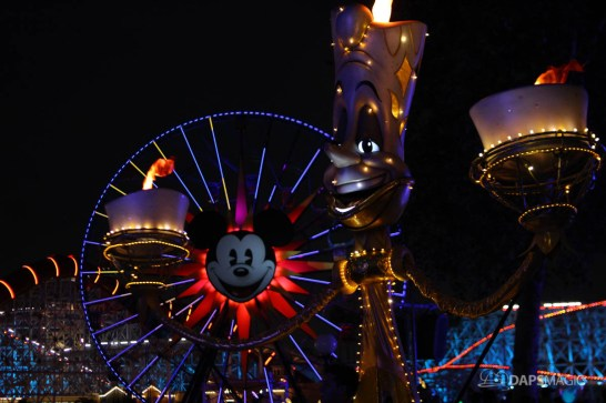 Pixar Pier Media Event - Paint the Night with Incredibles Float-11