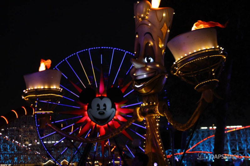 Pixar Pier Media Event - Paint the Night with Incredibles Float-12