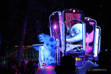 Pixar Pier Media Event - Paint the Night with Incredibles Float-13