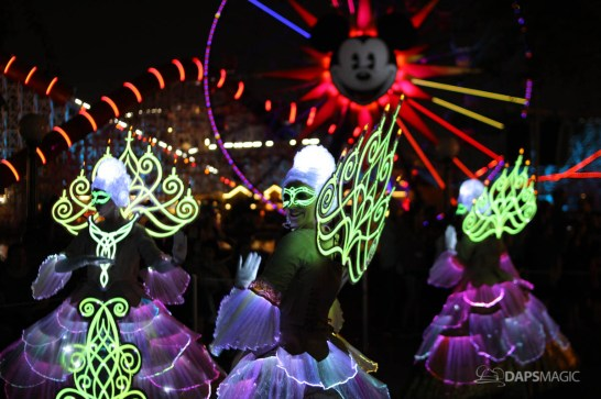 Pixar Pier Media Event - Paint the Night with Incredibles Float-33