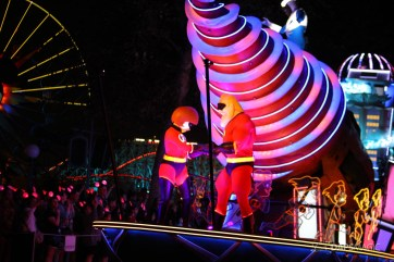 Pixar Pier Media Event - Paint the Night with Incredibles Float-47