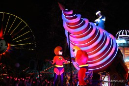 Pixar Pier Media Event - Paint the Night with Incredibles Float-48