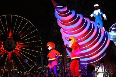 Pixar Pier Media Event - Paint the Night with Incredibles Float-49