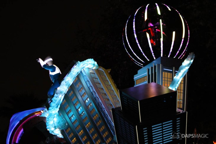 Pixar Pier Media Event - Paint the Night with Incredibles Float-64
