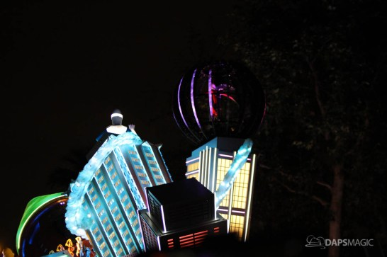 Pixar Pier Media Event - Paint the Night with Incredibles Float-66