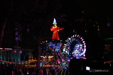 Pixar Pier Media Event - Paint the Night with Incredibles Float-74