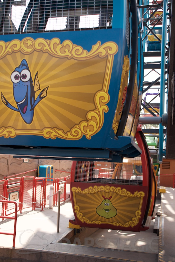 Pixar Pal-A-Round Turns Guests Around A Wheel of Fun at Pixar Pier