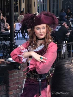 Redd the Pirate in New Orleans Square at Disneyland-4