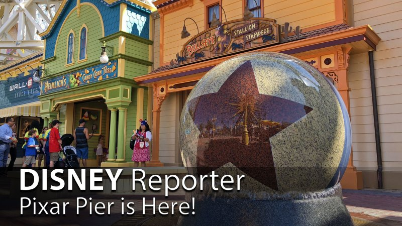Pixar Pier is Here! - DISNEY Reporter