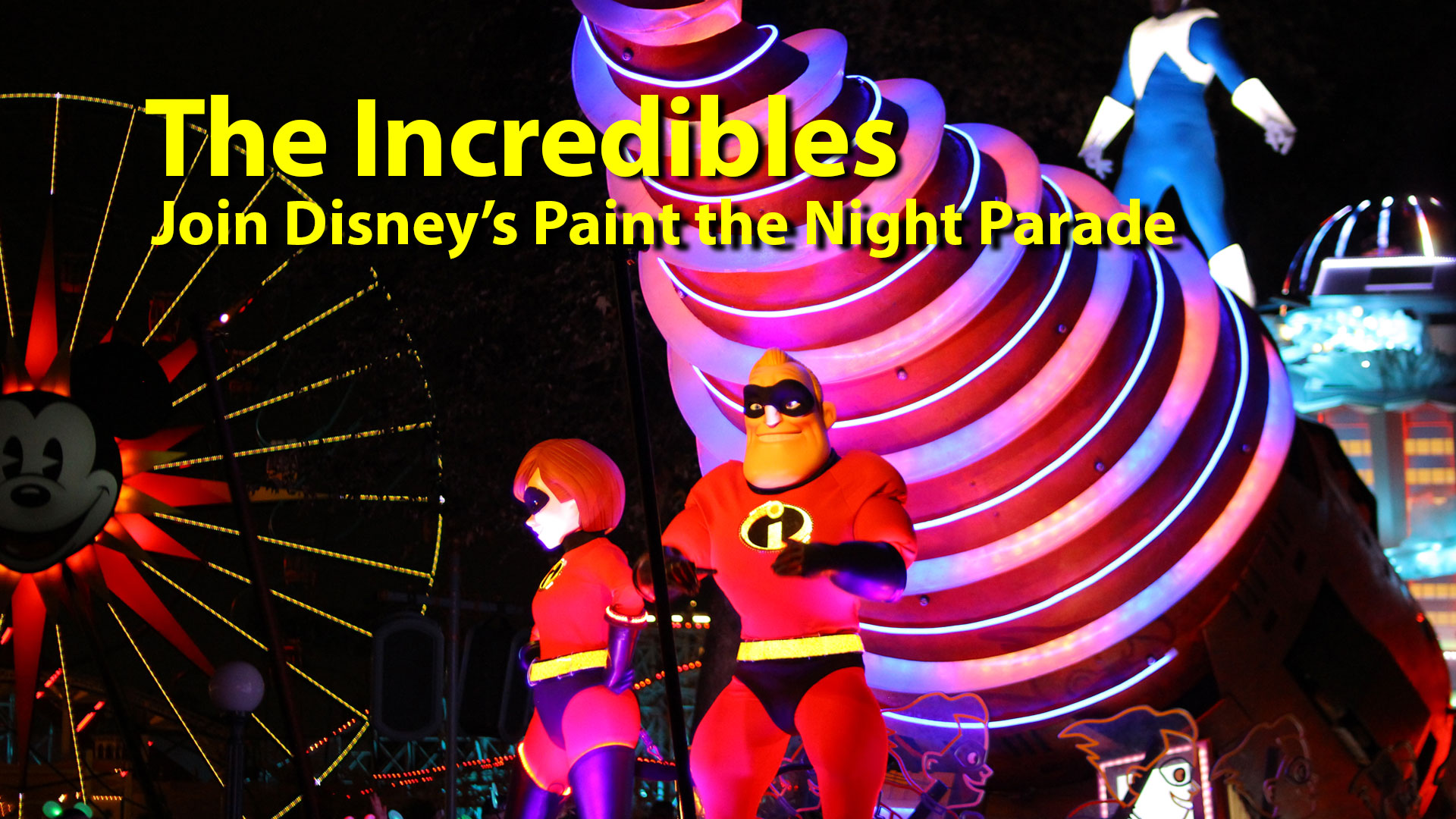 Disney's Paint the Night Parade Gets Even More Incredible With Pixar Pier Opening!