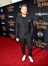 BURBANK, CA - JULY 30: Actor Ewan McGregor attends the world premiere of Disney's 'Christopher Robin' at the Main Theater on the Walt Disney Studios lot in Burbank, CA on July 30, 2018. (Photo by Alberto E. Rodriguez/Getty Images for Disney) *** Local Caption *** Ewan McGregor