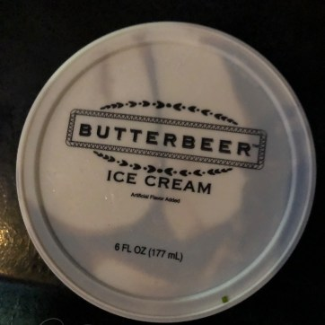 The new Butterbeer ice cream