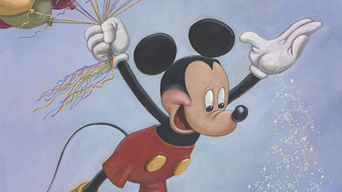Mickey Mouse Continues to Spread Happiness Around the World in 90th Anniversary Portrait