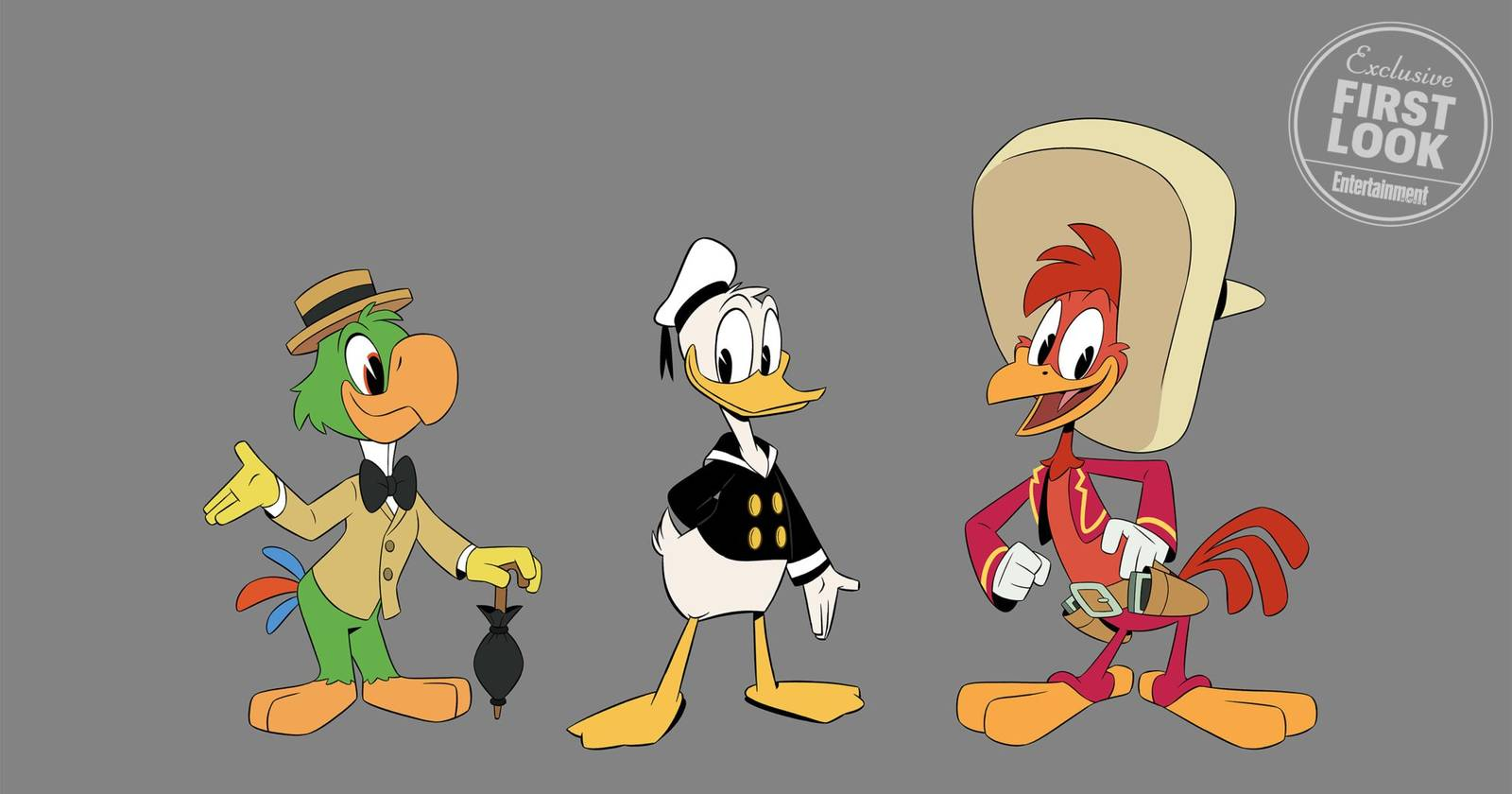 Three Caballeros Coming to DuckTales in Season Two!
