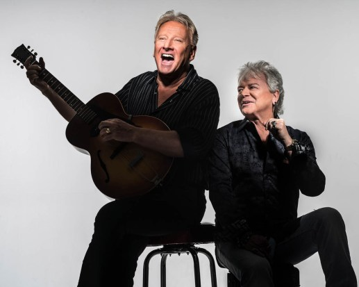 """Air Supply (""""All Out of Love"""") will perform Oct. 8-10 at America Gardens Theatre at 5:30, 6:45 and 8 p.m. during the 23rd Epcot International Food & Wine Festival """"Eat to the Beat"""" concert series. Performances are included with Epcot admission. (Disney)"""