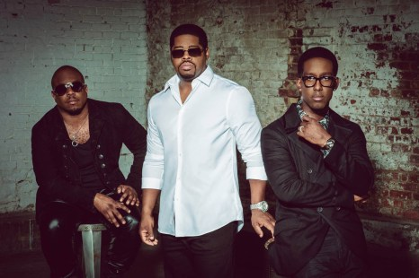 "Boyz II Men (""End of the Road"") will perform Nov. 5-7 at America Gardens Theatre at 5:30, 6:45 and 8 p.m. during the 23rd Epcot International Food & Wine Festival ""Eat to the Beat"" concert series. Performances are included with Epcot admission. (Disney)"