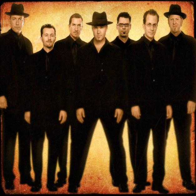 "Big Bad Voodoo Daddy (""Go Daddy-O"") will perform Nov. 10-12 at America Gardens Theatre at 5:30, 6:45 and 8 p.m. during the 23rd Epcot International Food & Wine Festival ""Eat to the Beat"" concert series. Performances are included with Epcot admission. (Disney)"