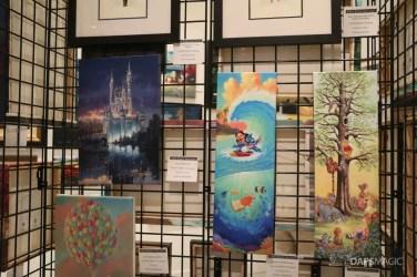 Snow White to Star Wars - A Disney Fine Art Exhibit at the Chuck Jones Gallery-28