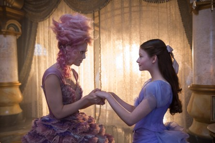 Keira Knightley is the Sugar Plum Fairy and Mackenzie Foy is Clara in THE NUTCRACKER AND THE FOUR REALMS.