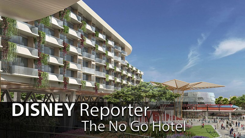 The No Go Hotel - DISNEY Reporter