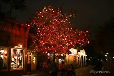 Halloween Tree at Disneyland