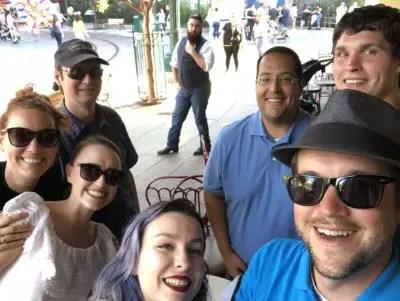 DAPS MAGIC Team at Fiddler, Fifer & Practical Café