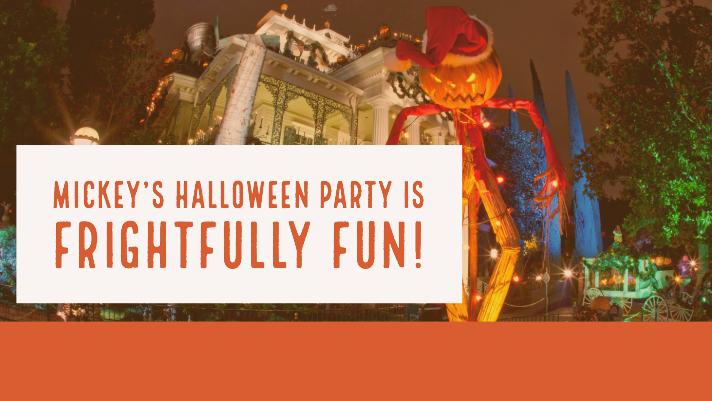 Mickey's Halloween Party is Frightfully Fun!