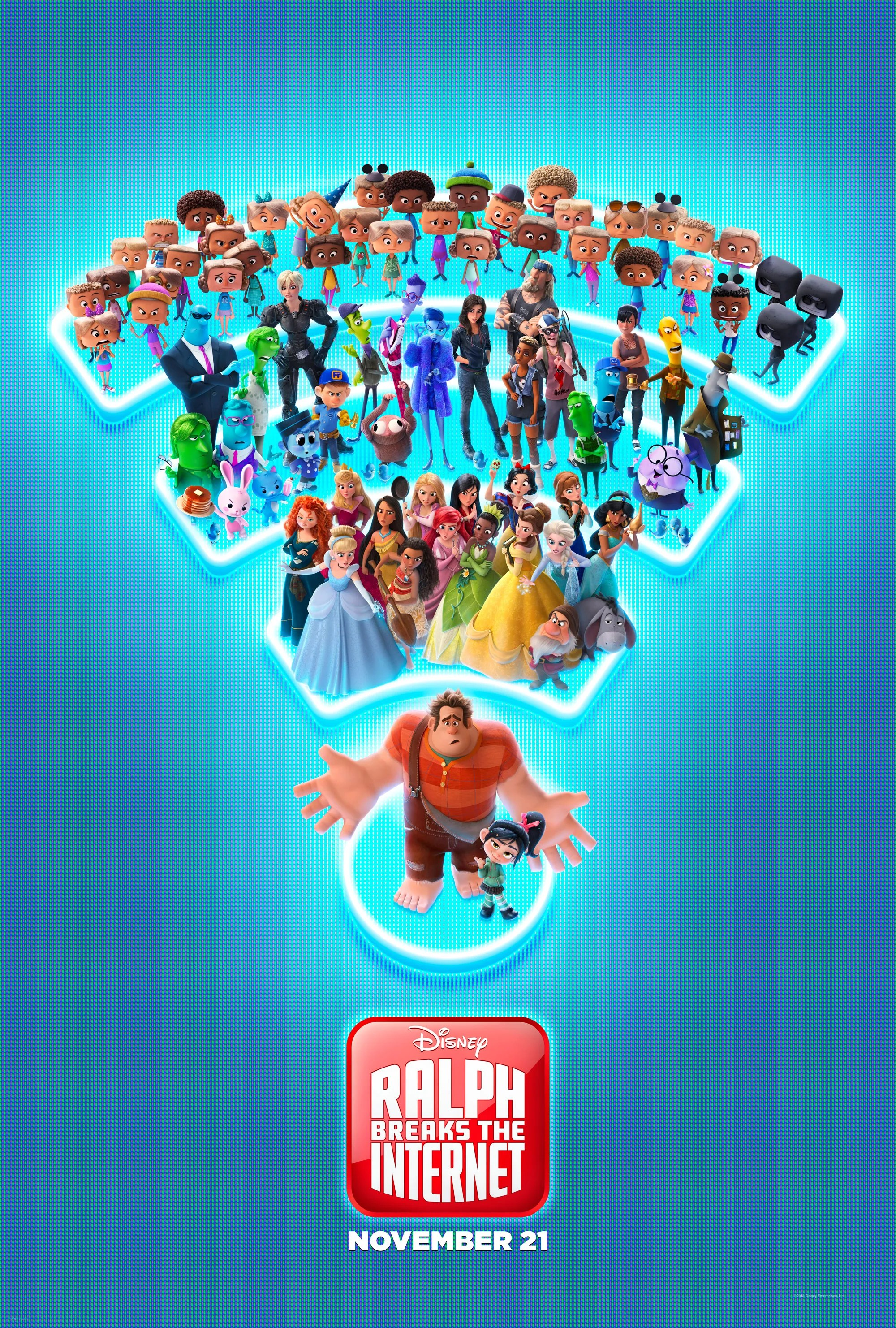 Ralph Breaks the Internet Trailer and Photos Add Depth and Context to the Journey From Litwak's Arcade to the Internet
