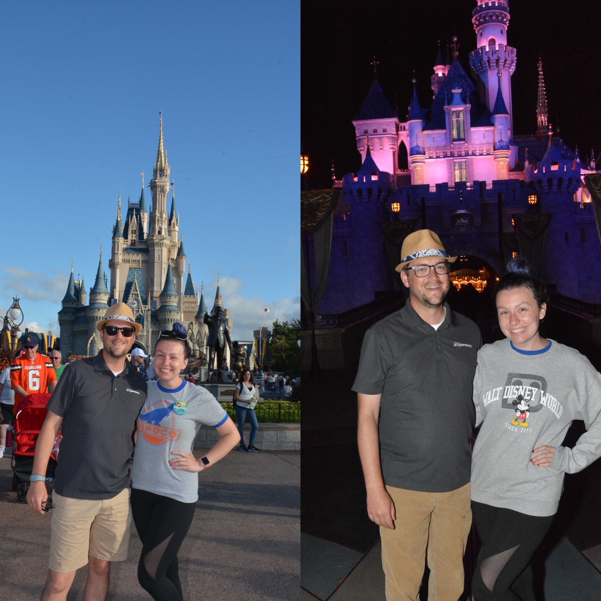 Go From Cinderella Castle to Sleeping Beauty Castle with the DAPs MAGIC Crew on the Last Day of the Walt Disney World Vacation