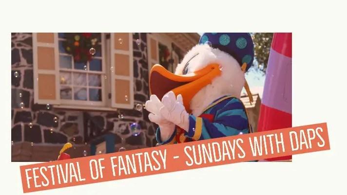Festival of Fantasy – Sundays with DAPs
