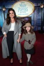 Tiffani Amber Thiessen and Harper Renn Smith attend The World Premiere of Disney's Mary Poppins Returns at the Dolby Theatre in Hollywood, CA on Wednesday, November 29, 2018 (Photo: Alex J. Berliner/ABImages)