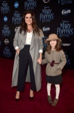 HOLLYWOOD, CA - NOVEMBER 29: Tiffani Thiessen (L) and Harper Renn Smith attend Disney's 'Mary Poppins Returns' World Premiere at the Dolby Theatre on November 29, 2018 in Hollywood, California. (Photo by Alberto E. Rodriguez/Getty Images for Disney) *** Local Caption *** Tiffani Thiessen; Harper Renn Smith
