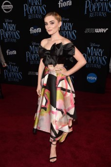 HOLLYWOOD, CA - NOVEMBER 29: Meg Donnelly attends Disney's 'Mary Poppins Returns' World Premiere at the Dolby Theatre on November 29, 2018 in Hollywood, California. (Photo by Alberto E. Rodriguez/Getty Images for Disney) *** Local Caption *** Meg Donnelly