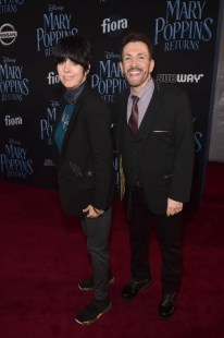 HOLLYWOOD, CA - NOVEMBER 29: Diane Warren (L) and Eric Vetro attend Disney's 'Mary Poppins Returns' World Premiere at the Dolby Theatre on November 29, 2018 in Hollywood, California. (Photo by Alberto E. Rodriguez/Getty Images for Disney) *** Local Caption *** Diane Warren; Eric Vetro