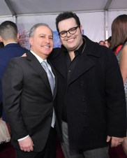 HOLLYWOOD, CA - NOVEMBER 29: Walt Disney Studios President, Alan Bergman (L) and Josh Gad attend Disney's 'Mary Poppins Returns' World Premiere at the Dolby Theatre on November 29, 2018 in Hollywood, California. (Photo by Charley Gallay/Getty Images for Disney) *** Local Caption *** Alan Bergman; Josh Gad