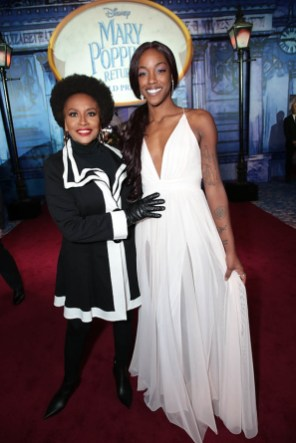 Jenifer Lewis and Charmaine Lewis attend The World Premiere of Disney's Mary Poppins Returns at the Dolby Theatre in Hollywood, CA on Wednesday, November 29, 2018 (Photo: Alex J. Berliner/ABImages)