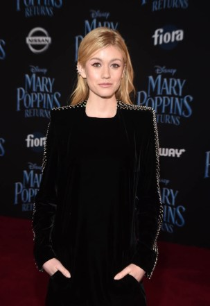 HOLLYWOOD, CA - NOVEMBER 29: Katherine McNamara attends Disney's 'Mary Poppins Returns' World Premiere at the Dolby Theatre on November 29, 2018 in Hollywood, California. (Photo by Alberto E. Rodriguez/Getty Images for Disney) *** Local Caption *** Katherine McNamara