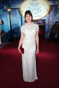 Emily Mortimer attends The World Premiere of Disney's Mary Poppins Returns at the Dolby Theatre in Hollywood, CA on Wednesday, November 29, 2018 (Photo: Alex J. Berliner/ABImages)