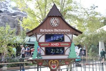 New Matterhorn Bobsleds Entrance and Queue at Disneyland-4