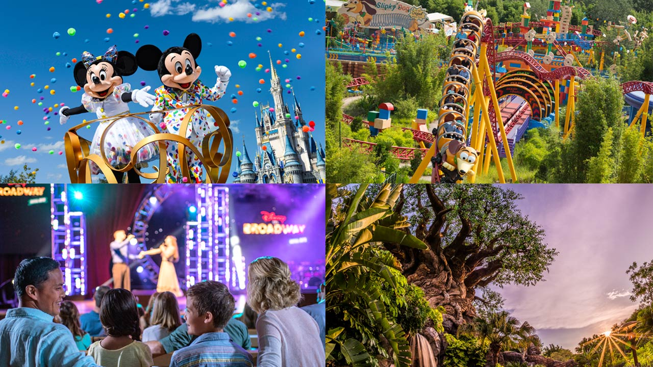Experience the Excitement of Walt Disney World Resort in 2019 with Special 4-Park Magic Tickets