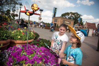 The 25th Epcot International Flower & Garden Festival features plenty of fun for the whole family. SpikeÕs Pollen National Exploration scavenger hunt challenges gardeners of all ages to follow Spike on his pollination trail around World Showcase Ð map and stickers available at Port of Entry. The festival, which runs 90 days Feb. 28-May 28, 2018, at Walt Disney World Resort in Lake Buena Vista, Fla., features dozens of character topiaries, stunning floral displays, creative gardens and exhibits, 15 Outdoor Kitchens with herb and produce gardens, plus the Garden Rocks concert series. (Harrison Cooney)