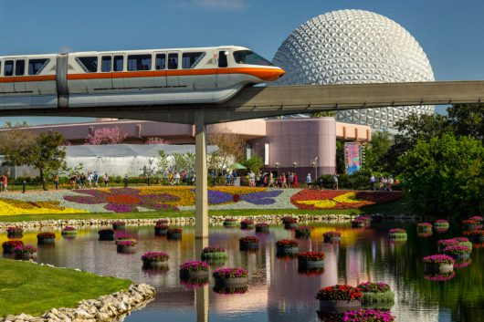 Richly-hued flowers and floating gardens adorn the Epcot International Flower & Garden Festival. The festival, which runs March 6-June 3, 2019 at Walt Disney World Resort in Lake Buena Vista, Fla., features dozens of character topiaries, stunning floral displays, gardening seminars and the Garden Rocks concert series - all included in regular Epcot admission. (Matt Stroshane, photographer)
