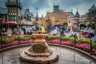 Rainy Day at Disneyland January 31 2019