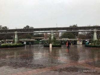 Rainy Day at the Disneyland Resort-2